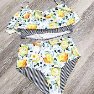 Cupshe Flounce Bikini